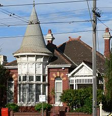 Albert Park has outstanding examples of Victorian and Edwardian housing