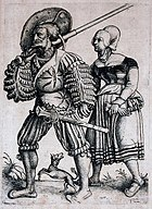 Landsknecht with his Wife