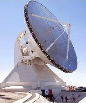 Agencia Espacial Mexicana - Large Millimeter Telescope in Mexico