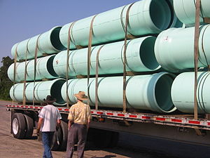 Pipe (fluid conveyance) - Plastic (PVC) pipes