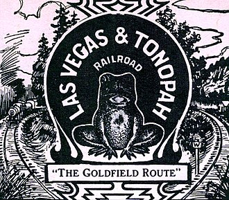 Las Vegas and Tonopah Railroad - Image: Las Vegas and Tonopah Railroad logo