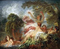 Jean-Honoré Fragonard: The Bathers