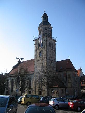 Altdorf bei Nürnberg - St. Laurentius church in 2005