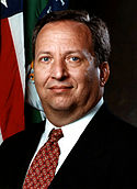 Lawrence Summers Treasury portrait