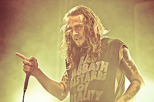 While She Sleeps - Lawrence Taylor performing at Slam Dunk Festival 2012
