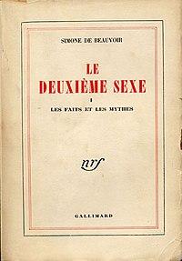 le deuxième sexe avenue du sexe