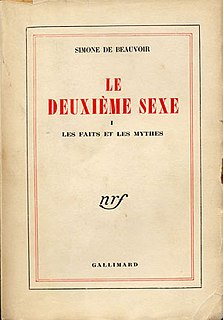 essay from Simone de Beauvoir