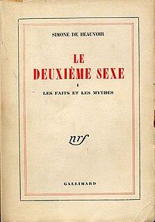 <i>The Second Sex</i> essay from Simone de Beauvoir