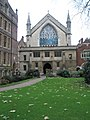 Leaves on the grass at Lincoln's Inn - geograph.org.uk - 1653888.jpg