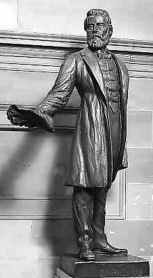 Jason Lee (missionary) - Jason Lee NSHC statue