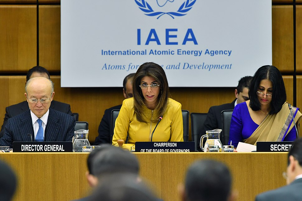Leena Al-Hadid, chairperson, IAEA, 2018