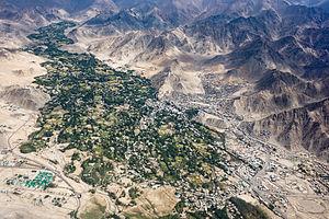 Leh - Leh and its surroundings