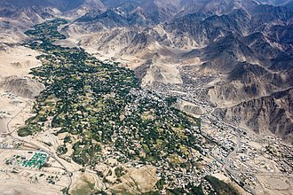 Leh - Leh and its surroundings