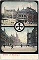 Leidsche Plein en Nieuwezijds Voorburgwal, Amsterdam 1900.jpg