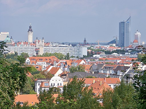 Leipzig Fockeberg Zentrum