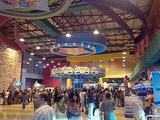 Lulu International Shopping Mall - Amusement area in the mall
