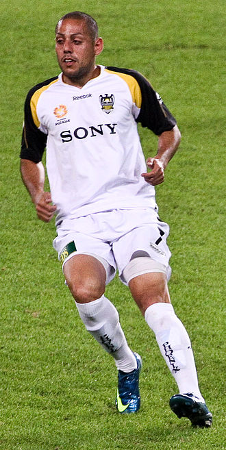 Leo Bertos - Bertos playing for Wellington Phoenix in 2008