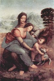 The Virgin and Child with St. Anne (c. 1510) — Louvre, Paris, is a masterly figure composition.