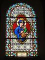 Les Autels (Aisne) église, vitrail ND du perpétuel secours.JPG