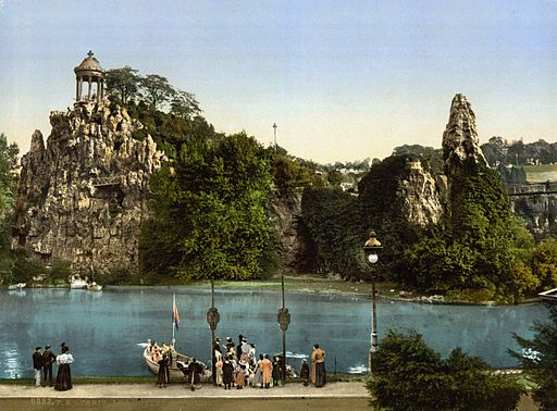 Les Buttes Chaumont, Paris, France, ca. 1890-1900