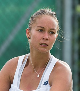 Lesley Kerkhove Dutch tennis player