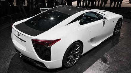 Lexus LFA - Wikiwand