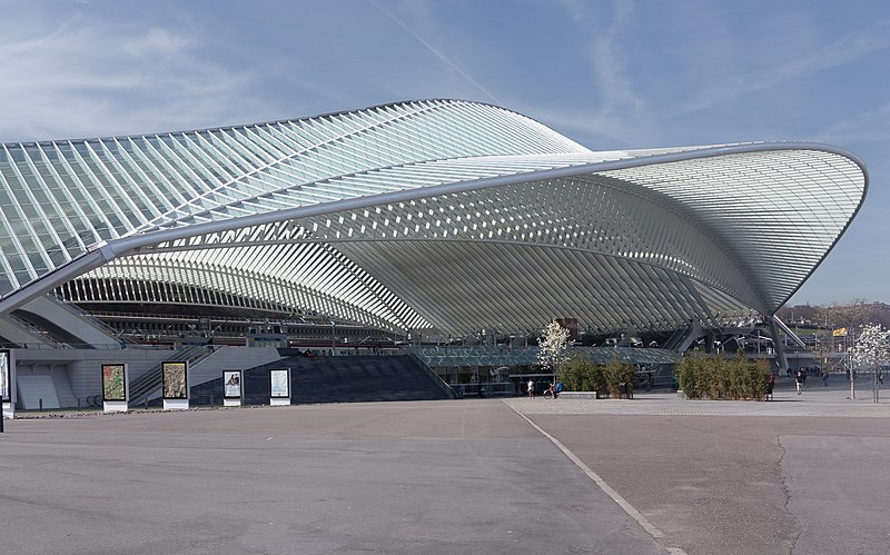 Top places to visit- Liege-Guillemins Station