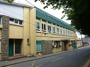 Lières - The town hall of Lières