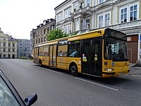 Liberec-Kristiánov, 8. března, autobus 380 na lince 600 Globus.jpg