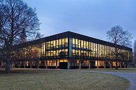 Biblioteca Nacional Alemã de Ciência e Tecnologia Hanover, Alemanha.