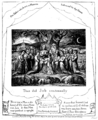 Life of William Blake (1880), Volume 2, Job illustrations plate 1.png