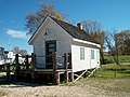 Light keepers house Lake Winnipeg.JPG