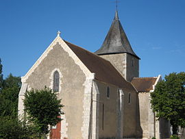 The church in Limeux