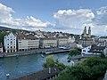 Limmat View from Lindenhof hill, Zurich (Ank Kumar) 02.jpg