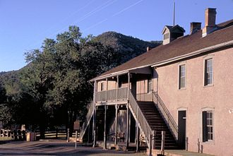 Billy the Kid - Courthouse and jail, Lincoln, New Mexico