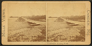 Lincolnville, Maine - Lincolnville shoreline c. 1880