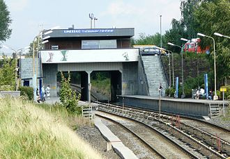 Linderud - Linderud station.