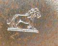 Lion passant, poiçon de la marque Bayard.jpg