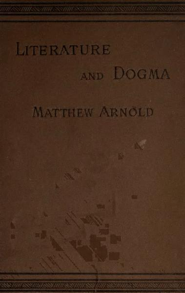 File:Literature and Dogma (1883).djvu