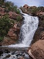 Little Dolores River Waterfall in Westwater Canyon, Utah 1.jpg