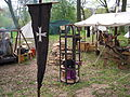 Little girl in a gibbet at EFF 2011.jpg