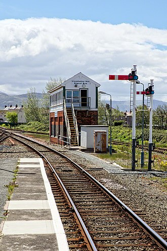 Llandudno railway station - Signal Box