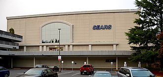Lloyd Center - The Sears store in 2017
