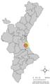 Localització de Polinyà de Xúquer respecte del País Valencià.png