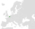 Location map for Flanders in Europe.PNG