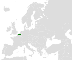 Location of Flanders
