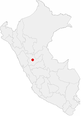 Location of the city of Huanuco in Peru.png