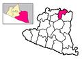 Locator Kecamatan Ngawen ing Gunung Kidul.png