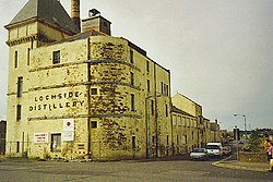 The former Lochside Distillery