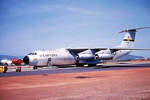 75th Expeditionary Airlift Squadron - 75th MAS C-141A Starlifter 65-0248, about 1966